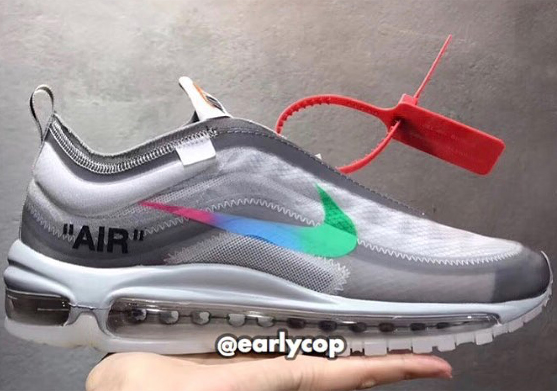 size 40 22c43 74cfb Off,White x Nike Air Max 97. Release Date November 10th, 2018. Color Off  White Wolf Grey,White,Menta ...