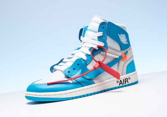 "Raffle List: Off-White Air Jordan 1 ""UNC"""