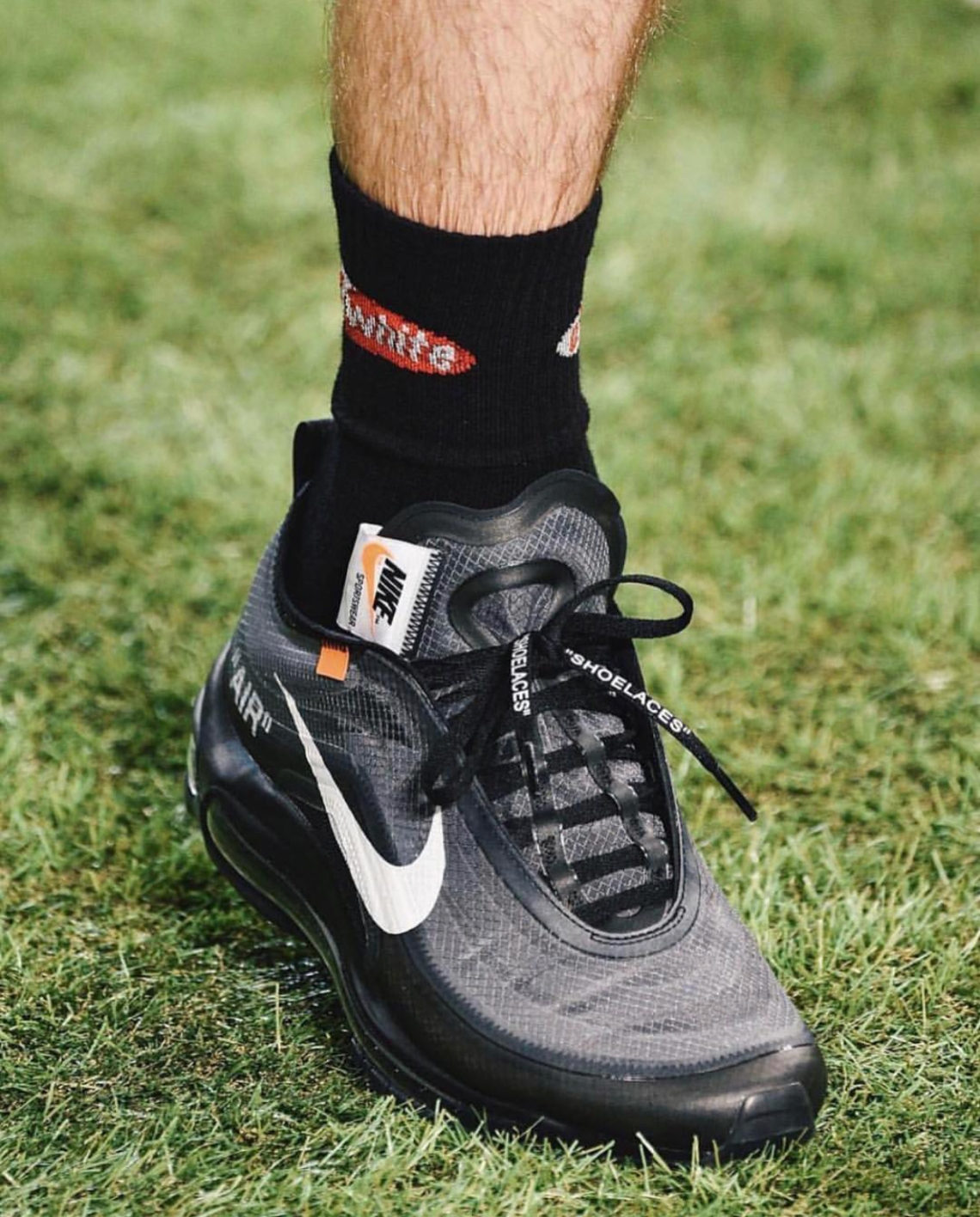 e49b26229f Off-White Nike Air Max 97 Grey + Black | SneakerNews.com