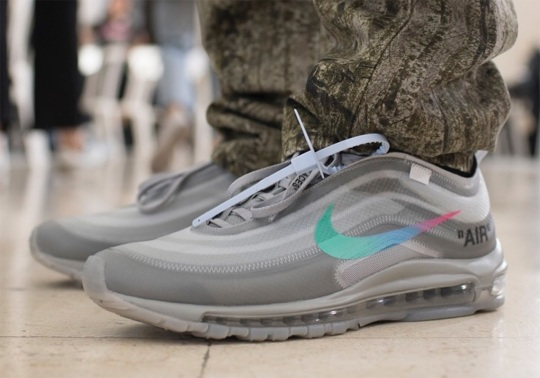 First Look At The Next Off-White x Nike Air Max 97 Releases