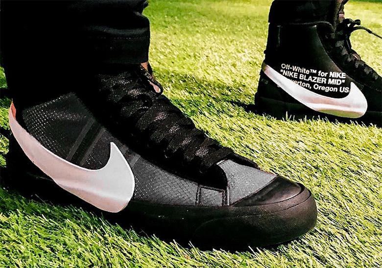 Off-White Nike Blazer Black - Release Info | SneakerNews.com