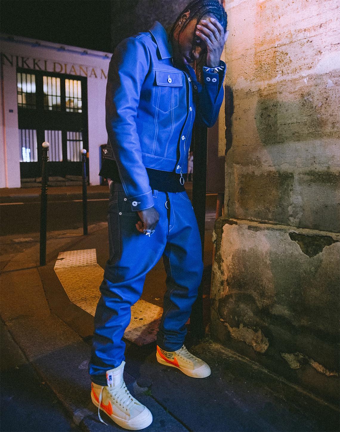 fiabilidad Romper provocar  OFF WHITE x Nike Blazer Cream/Orange First Look | SneakerNews.com
