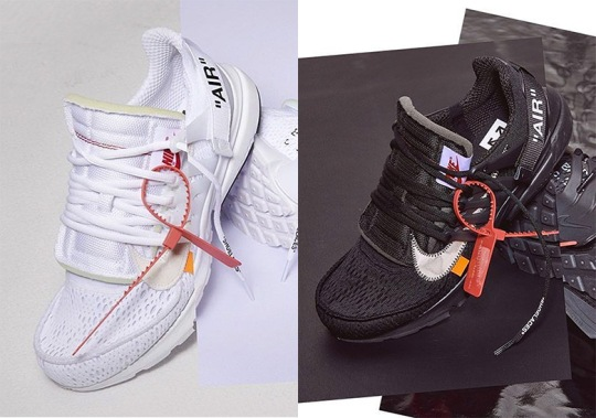 Off-White x Nike Presto Is Releasing In July And August