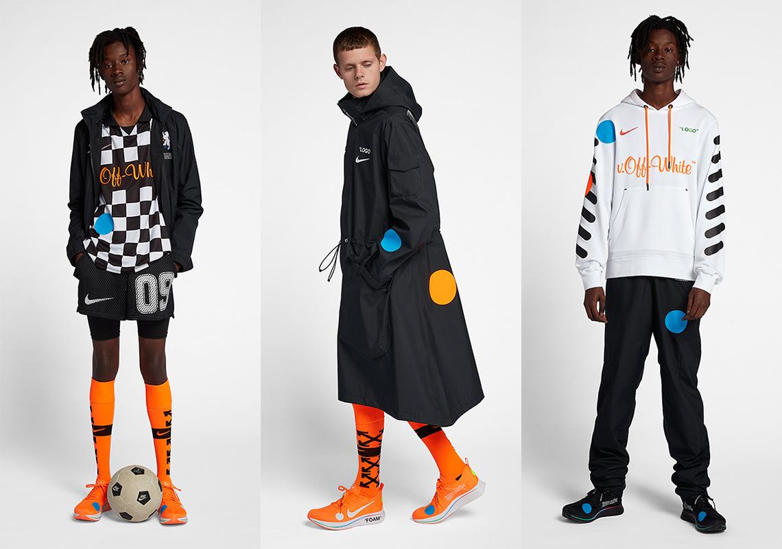 68e93cb0 OFF WHITE Nike Football Apparel Release Info   SneakerNews.com