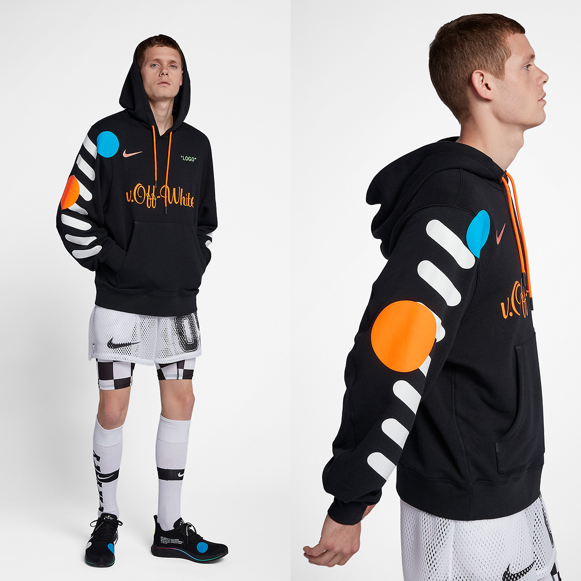 Kleidung & Accessoires Sport-kapuzenpullis & -sweatshirts Search For Flights New Off White Hoodie Size M