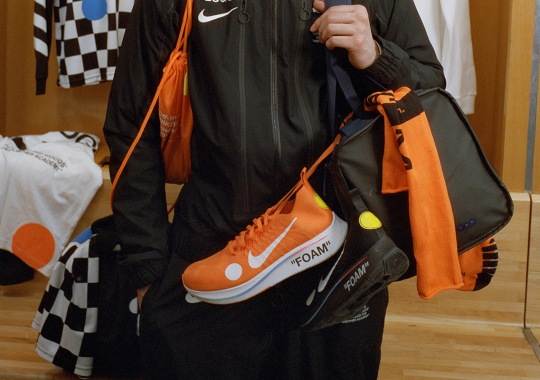 """Virgil Abloh's Off White And Nike Present """"Football, Mon Amour"""" For The World Cup"""