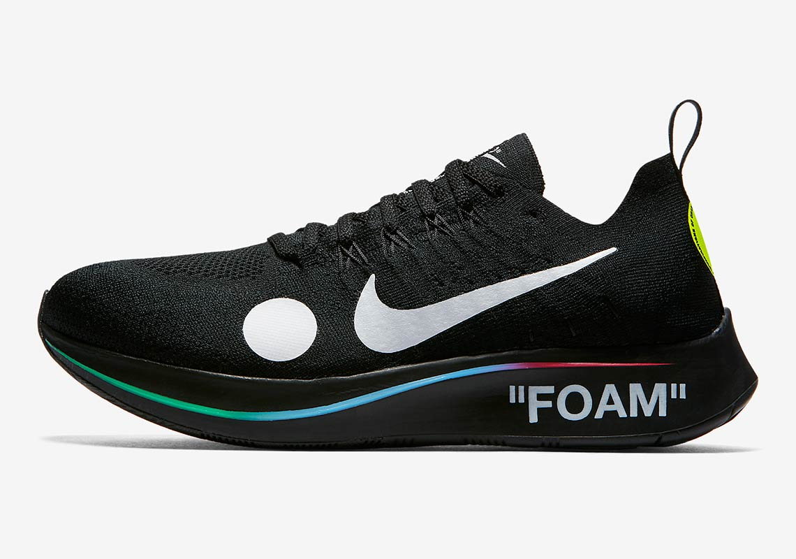 99698a89b13e1 OFF WHITE x Nike Zoom Fly Mercurial Flyknit Release Date  June 14th