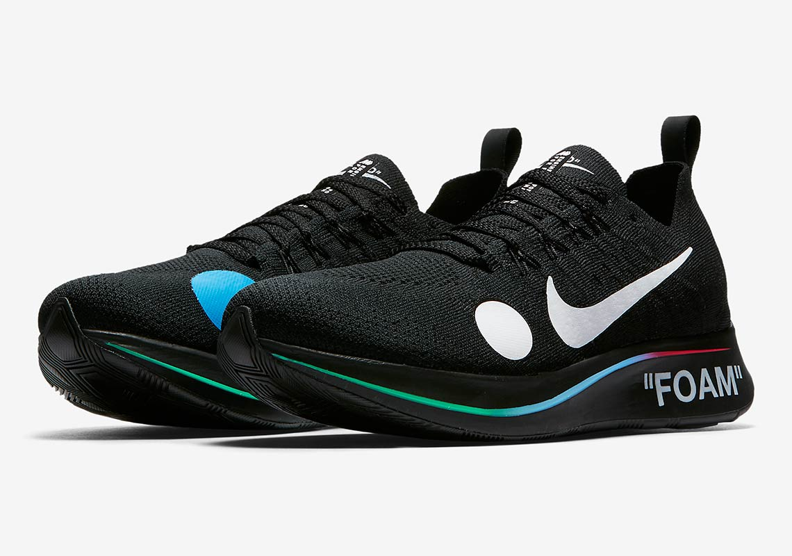 where to buy off white x nike zoom fly mercurial flyknit