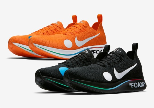 Where To Buy: OFF WHITE x Nike Zoom Fly Mercurial Flyknit