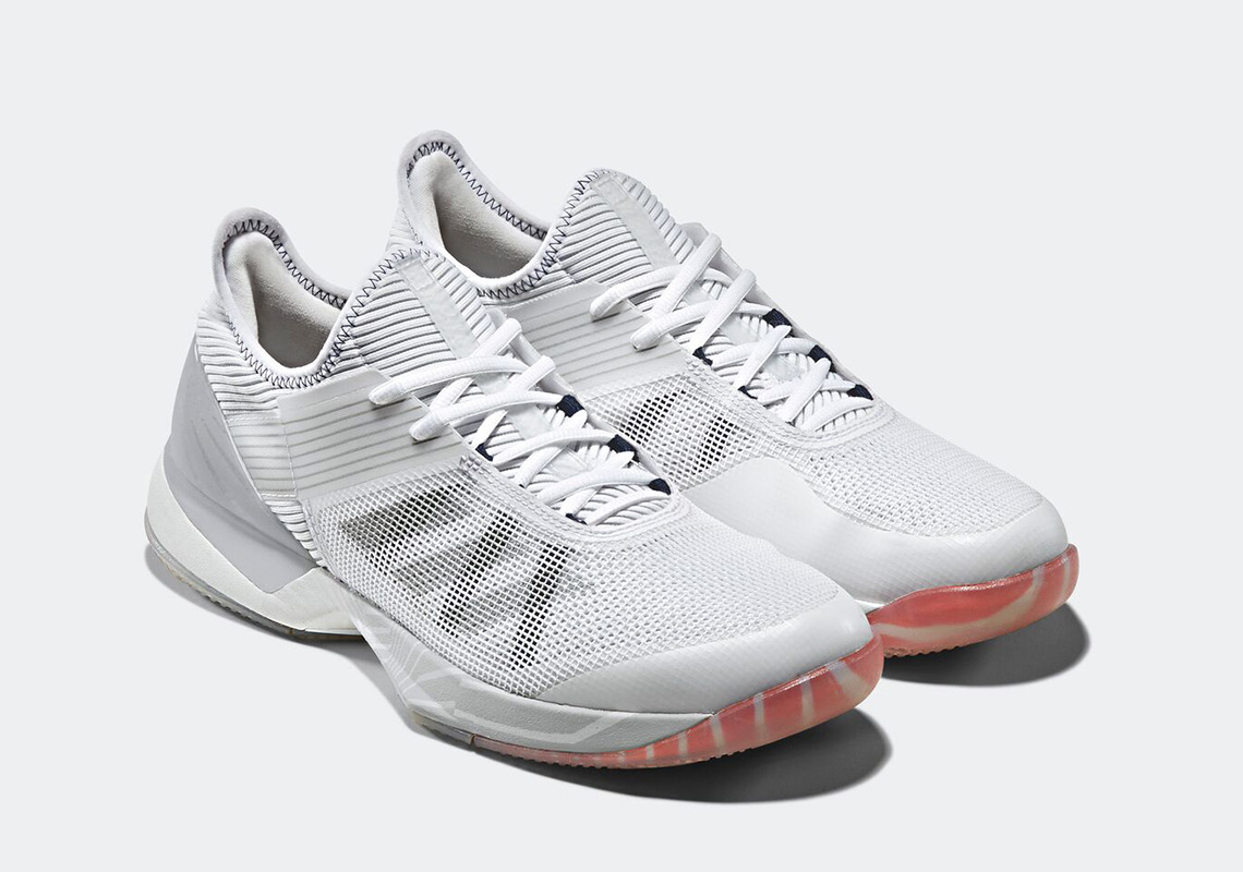 Palace x Adidas White Ubersonic 3.0 On Court Tennis