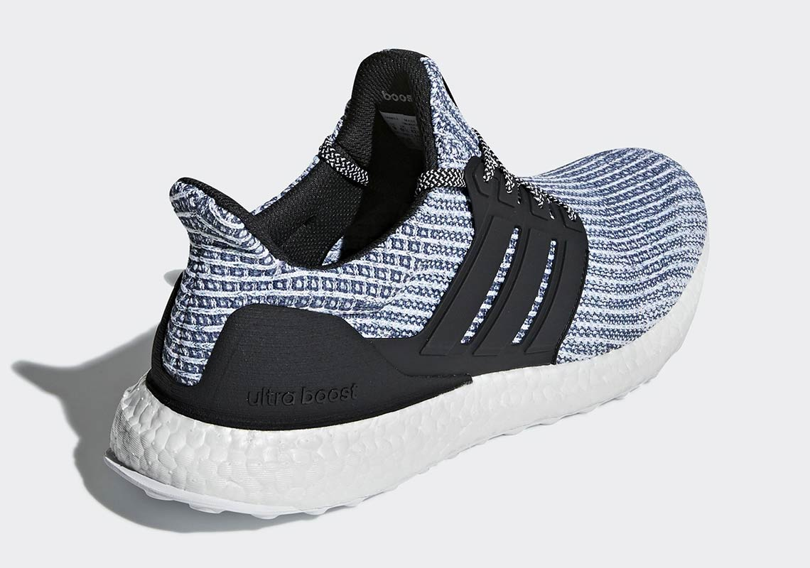 a55361242c9a8 Parley x adidas Ultra Boost 4.0 Blue Black Release Info BC0248 ...
