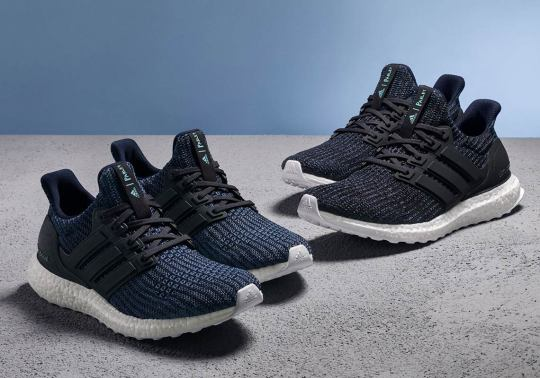 Deep Ocean Blue Arrives On The Parley x adidas Ultra Boost 4.0
