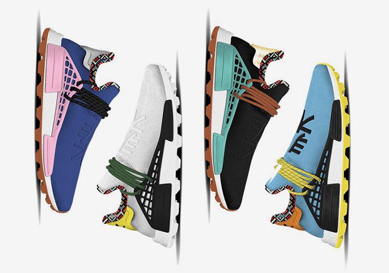 4ef058c85 Pharrell adidas NMD Hu Inspiration Pack - Release Info