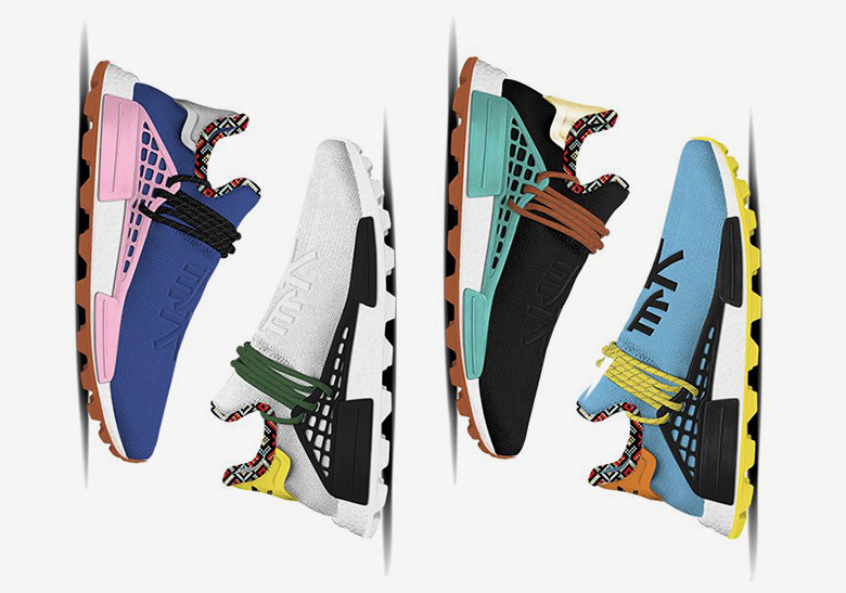15fe84af7ea85 Pharrell adidas NMD Hu Inspiration Pack - Release Info