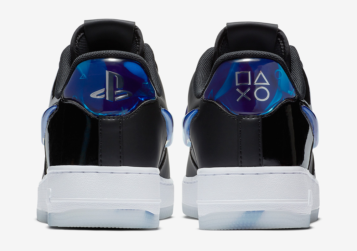pretty nice 52a98 0c085 Official Images Of The Sony PlayStation x Nike Air Force 1 Low