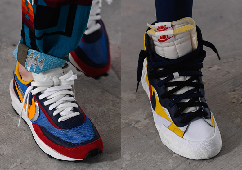 Sacai Nike LDV Waffle + Blazer Dunk