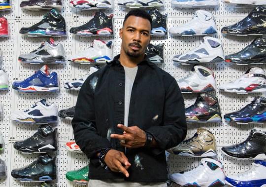 Power's Omari Hardwick Goes Sneaker Shopping At Stadium Goods