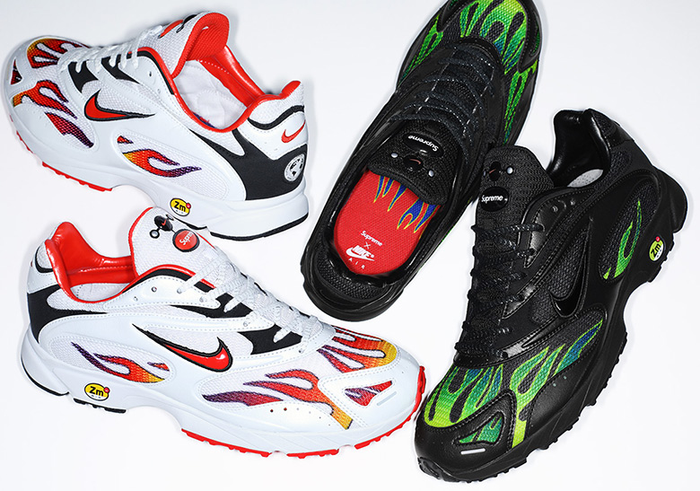 a1bfcccffd5d Supreme Nike Zoom Streak Spectrum Plus Release Info