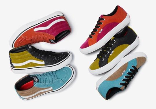 Supreme's Next Vans Collaboration Features Croc and Corduroy