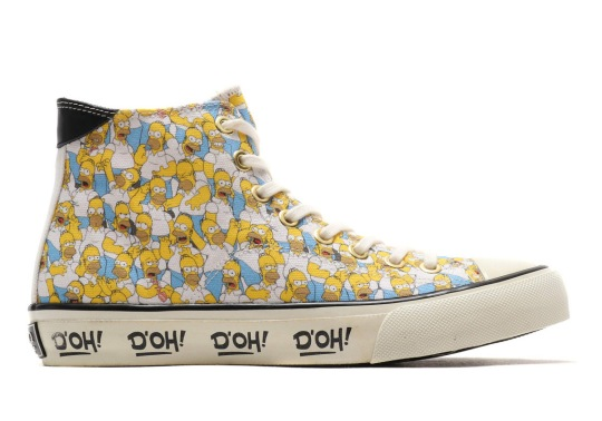 Fans Of The Simpsons Will Need These Classic Tennis Shoes