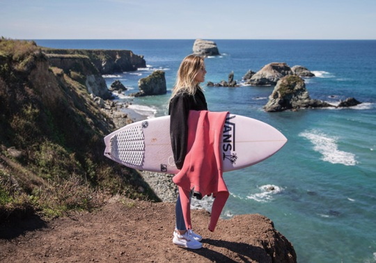 Vans Surf And Leila Hurst Release Women's Exclusive Collection
