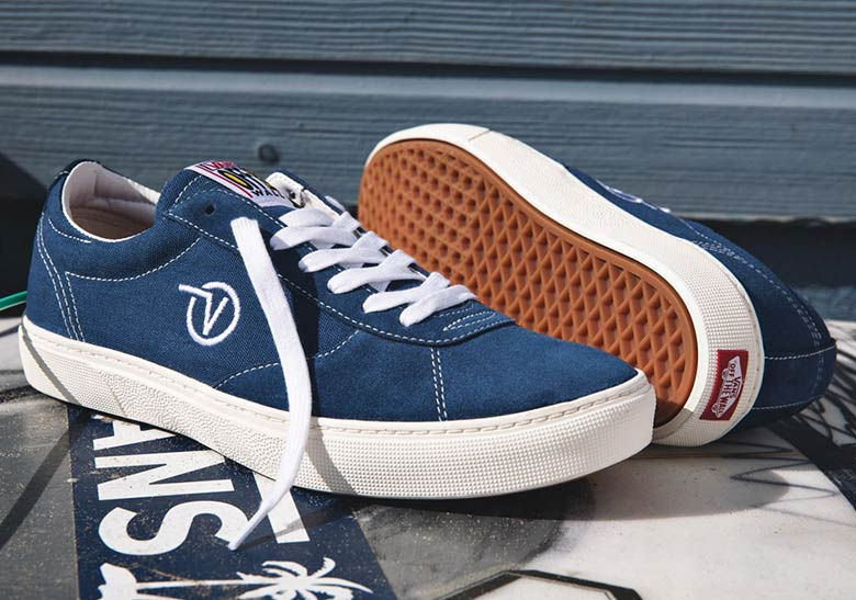 Vans Paradoxxx Navy Available Now