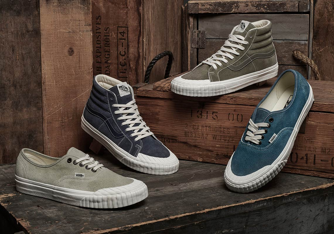 ea36119e6c Vans Adds A Vintage Military Look To The Sk8-Hi And Authentic