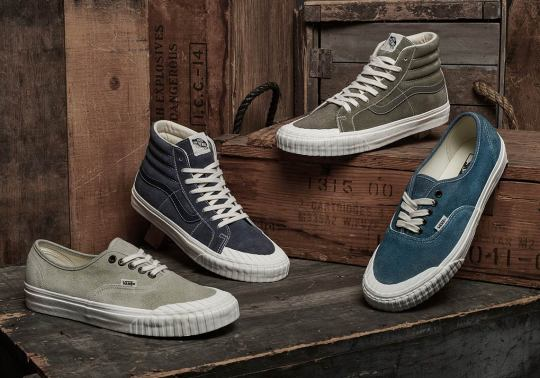 Vans Adds A Vintage Military Look To The Sk8-Hi And Authentic