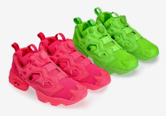 VETEMENTS And Reebok Drop Two Neon Instapump Fury Colorways
