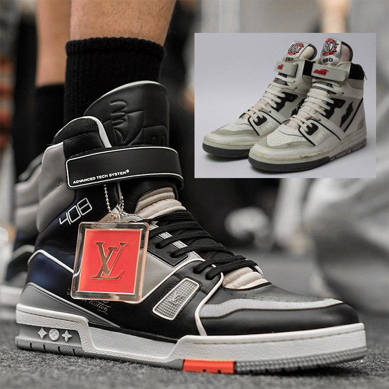 285c9ba5b1c Virgil Abloh Louis Vuitton AVIA 880 Comparison | SneakerNews.com