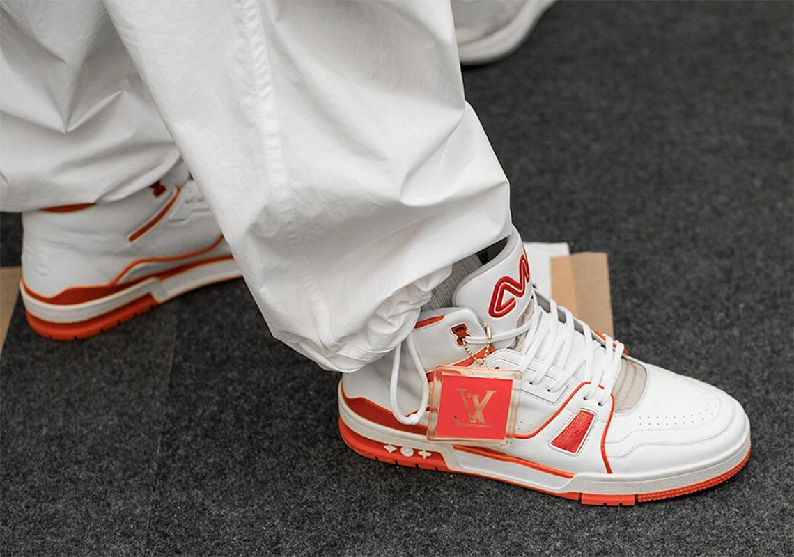 24c7e47a48 Virgil Abloh Louis Vuitton Sneaker Detailed Look