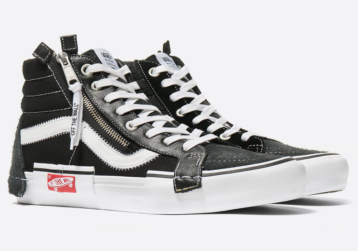 0d35a455ca Virgil Abloh Vans Sk8 Hi + Slip-On Available Now