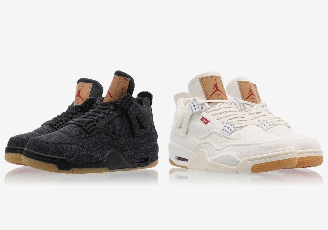 284ea55a586cc6 Where To Buy Air Jordan 4 Levi s