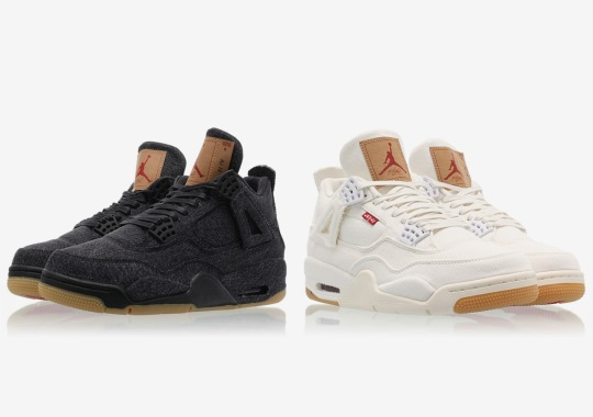 02e0a38275f Air Jordan 4 Levi's - January 17th Release | SneakerNews.com