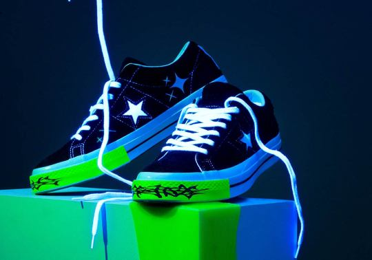 Converse And Yung Lean Collaborate On A One Star