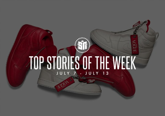 Vogue x Air Jordan 1 High Zip, Two New React Element 87 Colors, And More Of This Week's Top Stories