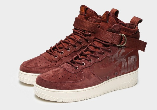 A Tonal Burgundy Comes To The SF-AF1 Mid