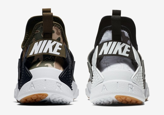 Nike Adds Camo Prints To The Air Huarache Drift