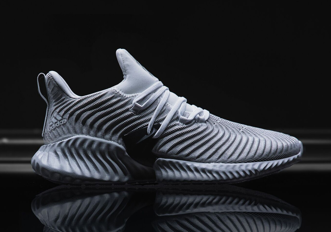 5e85b798b Male and female fans can both get in on the action as the Alphabounce  Instinct is available now at adidas.com and other Three Stripes houses in a  slew of ...