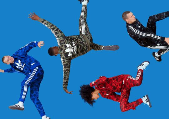 BAPE And adidas Originals Unveil Upcoming Apparel Collection