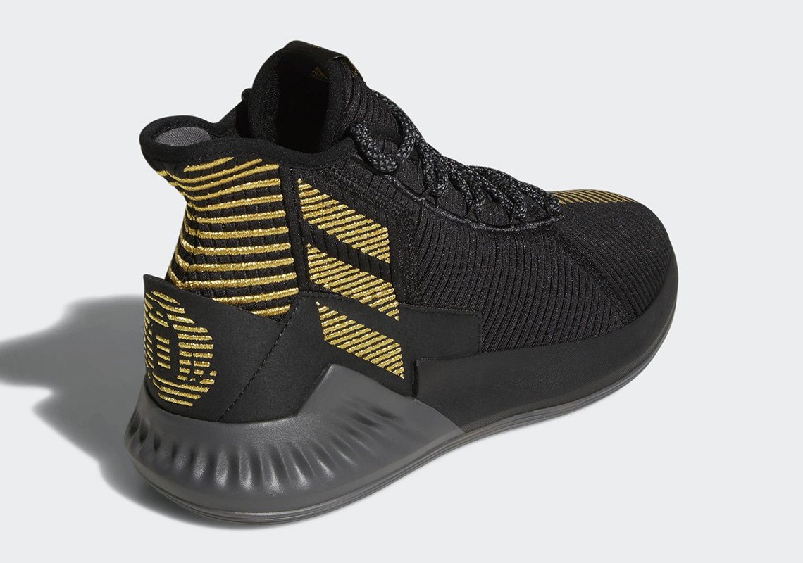 adidas D Rose Black/Gold BB7657 Photos + Release Info