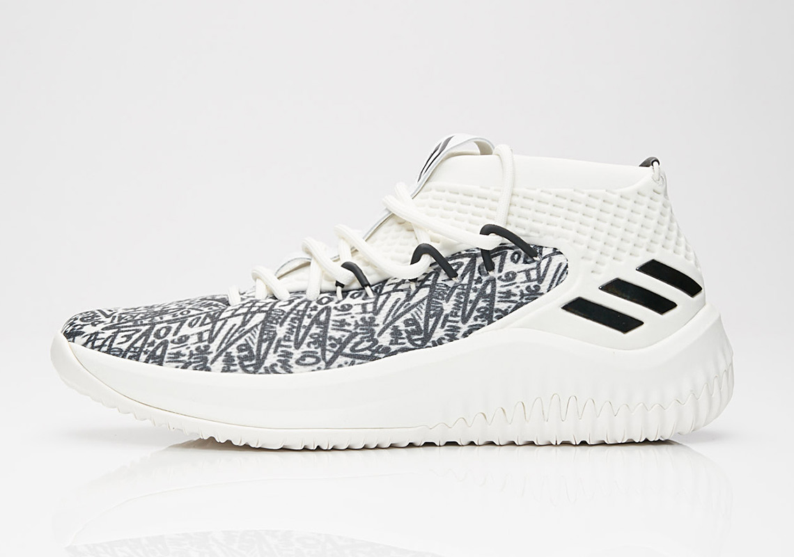 factory price 8450a 0ee56 adidas Dame 4. AVAILABLE AT SNS 120. Color Cloud WhiteCrystal WhiteCore  Black