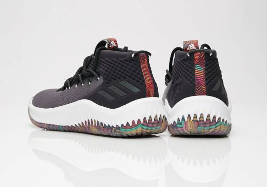 "info for f1e32 21ea6 Tribal Prints Appear On The adidas Dame 4 ""Summer Pack"""