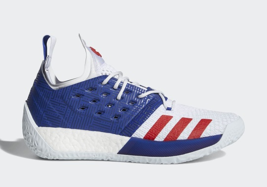 The adidas Harden Vol. 2 Appears In USA Colors