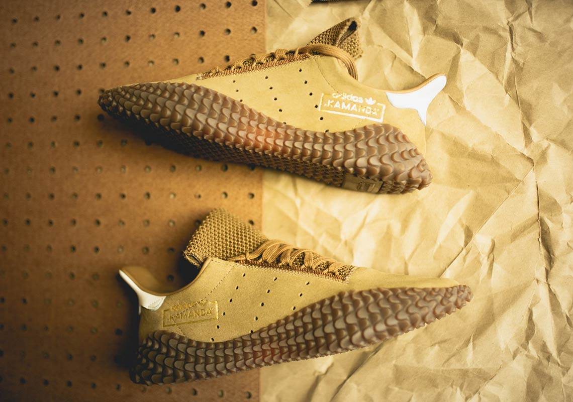 adidas kamanda raw tan 7 - adidas Kamanda Raw Tan Available Now
