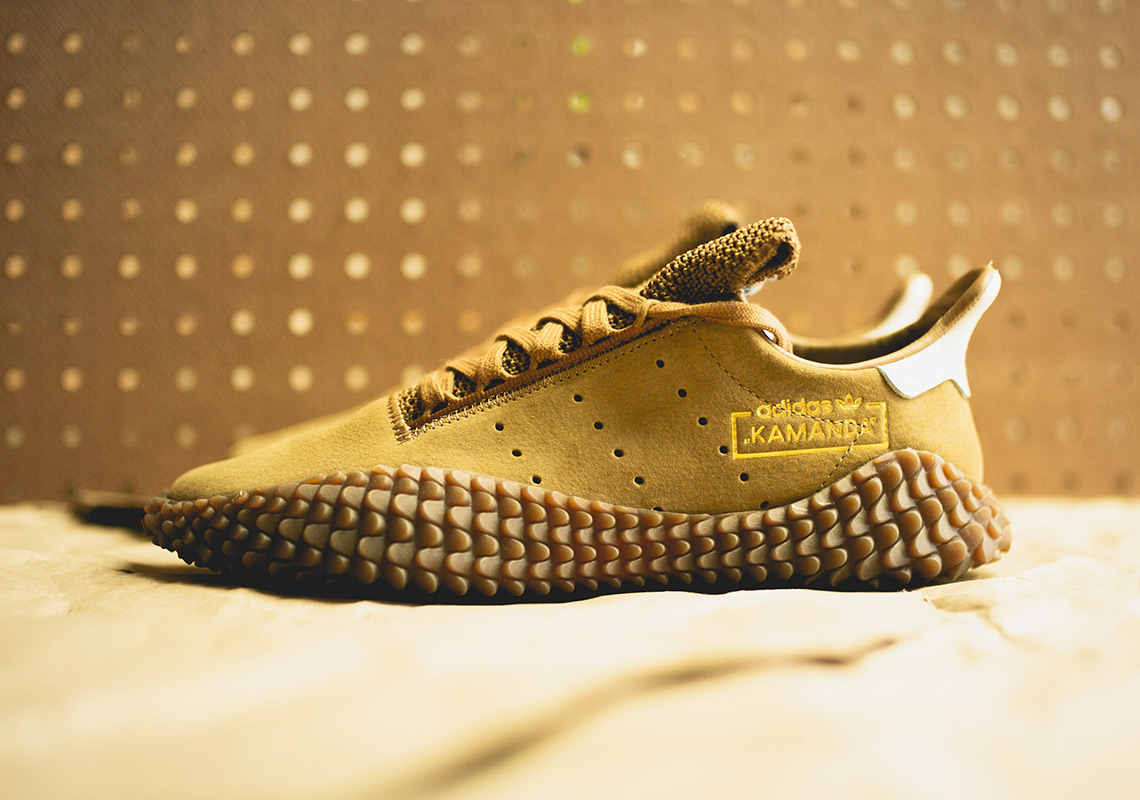 adidas kamanda raw tan - adidas Kamanda Raw Tan Available Now
