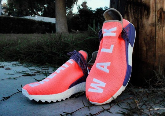 "Alternate Colorway Of Pharrell's adidas NMD Hu ""Breathe/Walk"" Appears"