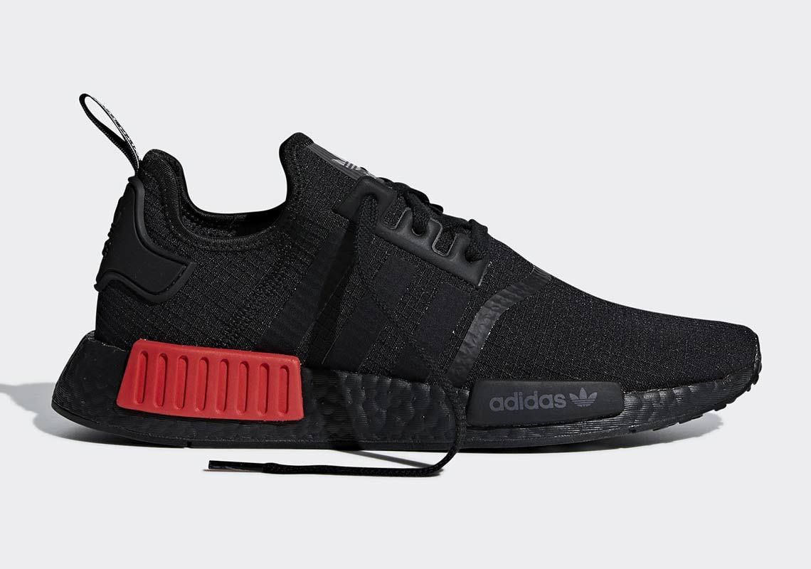 adidas NMD R1 Black Red B37618 Release Info | SneakerNews.com