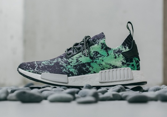 "A Closer Look At The adidas NMD ""Green Marble"""
