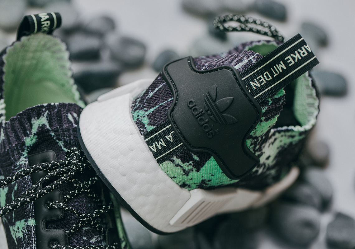 Adidas Nmd R1 Green Marble Bb7996 Release Info